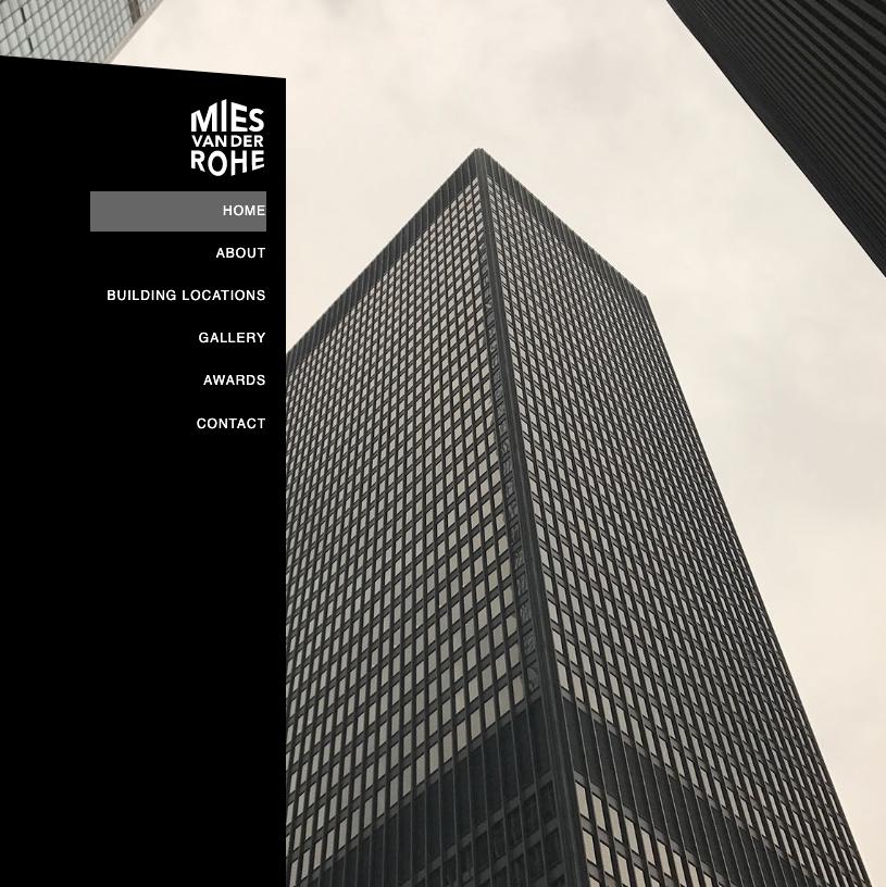 Mies Van Der Rohe Website